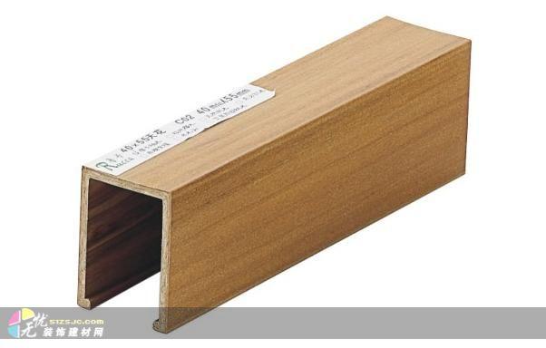 地板,天花吊顶,户外园林配套 多功能木条.广东鲁卡生态木公司, 高清图片