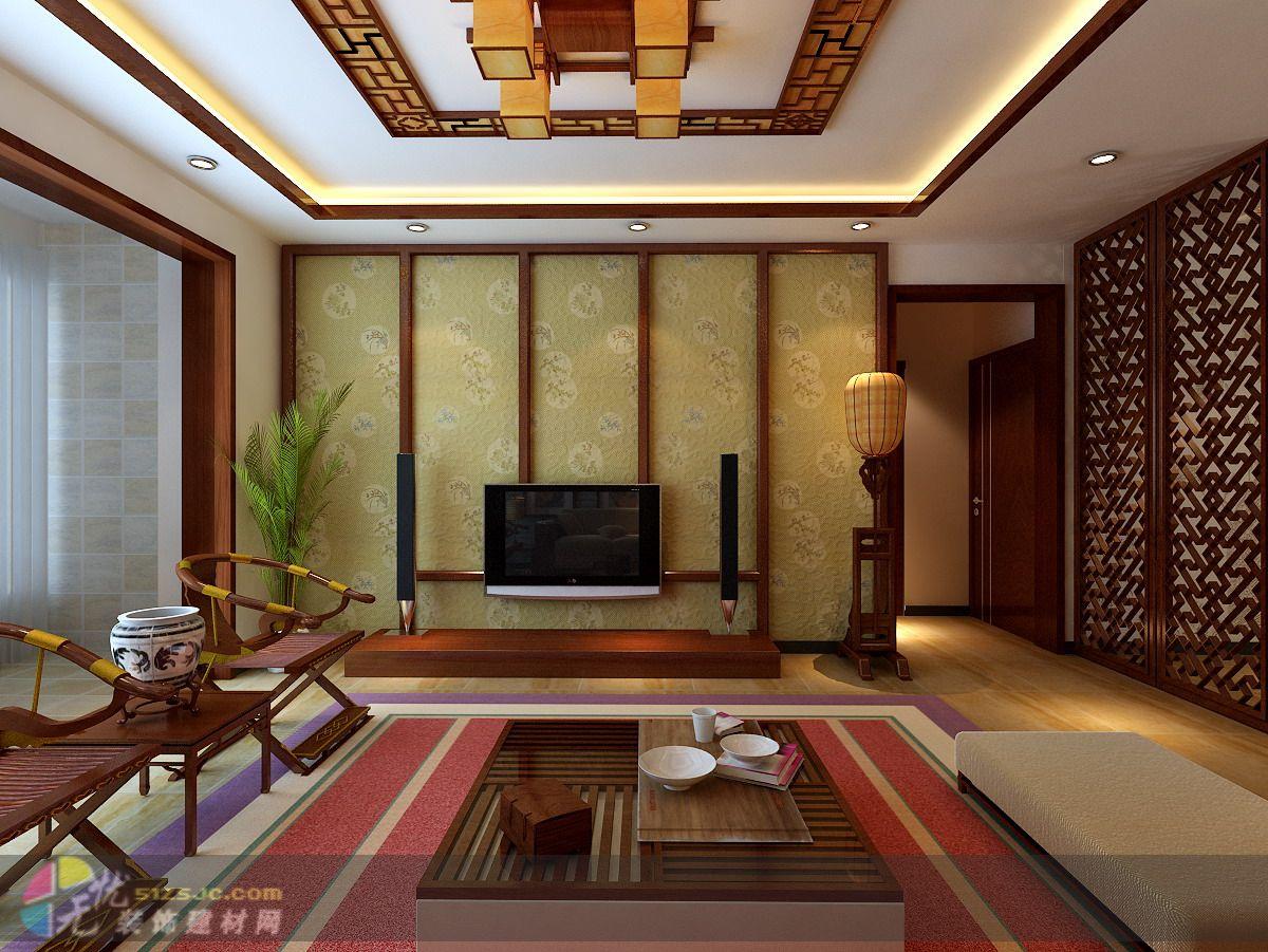 中式风格 作品 家居设计图库 效果图,实景图,样板间,建筑设