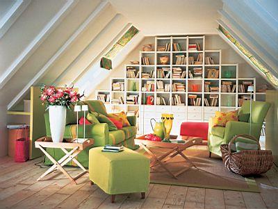 客厅 以书为墙 图
